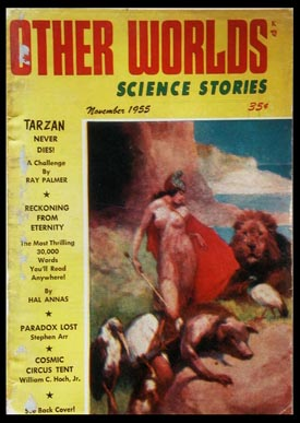 Other Worlds Science Stories November 1955. Authors