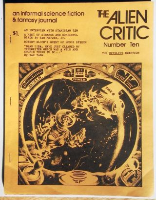 The Alien Critic August 1974 An Informal Science Fiction & Fantasy Journal. Richard E. Geis, ed.