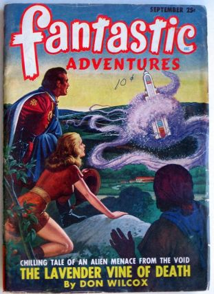 Fantastic Adventures September 1948. Raymond Palmer, ed.
