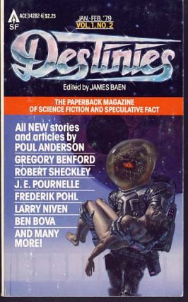 Destinies: The Paperback Magazine of Science Fiction and Speculative Fact January-February 1979....
