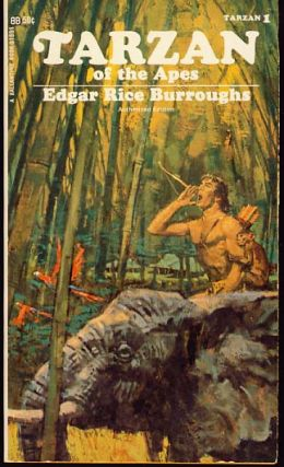 Tarzan of the Apes - Eight Volume Set. Edgar Rice Burroughs