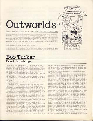 Outworlds 24. Bill Bowers, ed.