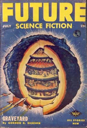 Future Science Fiction July 1953. Robert A. W. Lowndes, ed