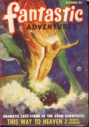 Fantastic Adventures October 1948. Raymond Palmer, ed.