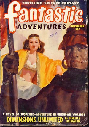 Fantastic Adventures November 1948. Raymond Palmer, ed
