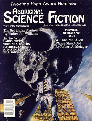 Aboriginal Science Fiction September-October 1989. Charles C. Ryan, ed