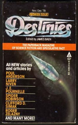 Destinies: The Paperback Magazine of Science Fiction and Speculative Fact November-December 1978....