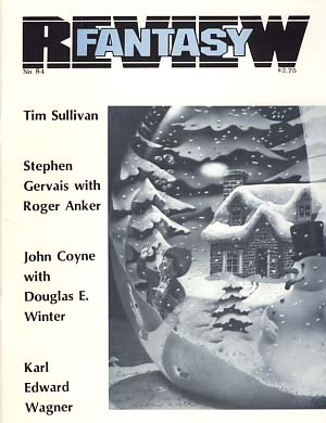 Fantasy Review #84 October 1985. Robert A. Collins, ed