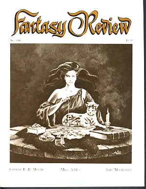 Fantasy Review #100 April 1987. Robert A. Collins, ed.