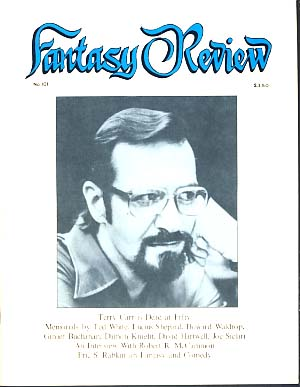 Fantasy Review #101 May 1987. Robert A. Collins, ed