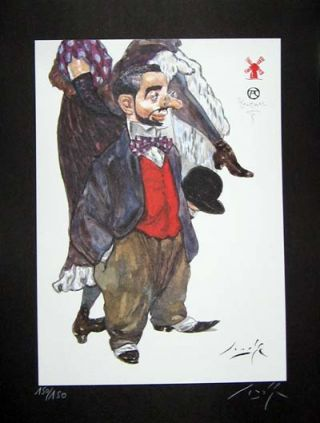 Limited Edition Signed and Numbered Print - #2 from Cabaret Lautrec. Gradimir Smudja