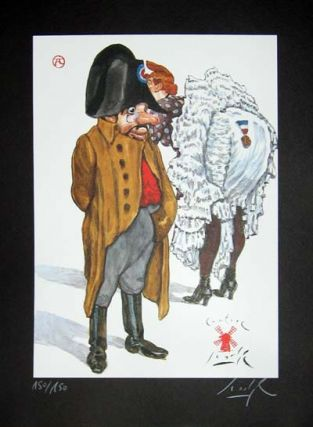 Limited Edition Signed and Numbered Print - #13 from Cabaret Lautrec. Gradimir Smudja