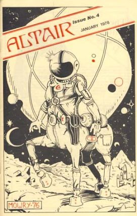 Altair Fan Art Review 8 January 1978. Terry Whittier, ed.