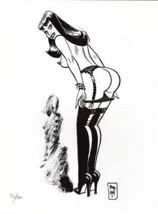 Limited and Numbered Edition Print - #5 from Chiara di notte (Clara). Jordi Bernet