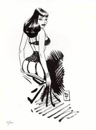 Limited and Numbered Edition Print - #8 from Chiara di notte (Clara). Jordi Bernet