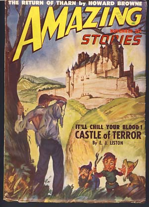 Amazing Stories November 1948. Howard Browne, ed.