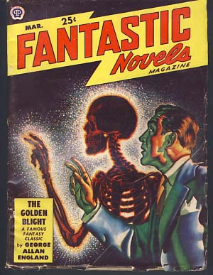 Fantastic Novels Magazine March 1949. Authors