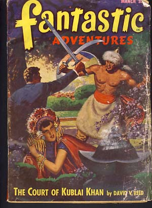 Fantastic Adventures March 1948. Raymond Palmer, ed.