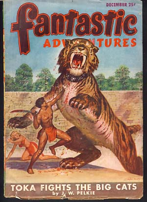 Fantastic Adventures December 1947. Raymond Palmer, ed